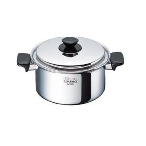 クリナップ水回り部品 調理道具 IH対応:深型両手鍋(21cm/4.0L)(AD-KZ11D)|hokusei2