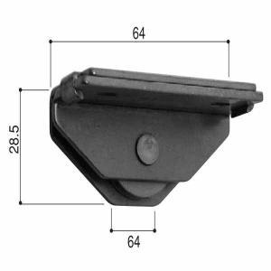 YKKAPビル部品 転向滑車(HH-2K-11914)|hokusei2