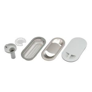 クリナップ水回り部品 システムキッチン シンクアクセサリー シリーズ:クリンレディ:排水アイテムセット(KAP-KV5BB)|hokusei2