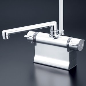 KVK水回り部品 浴室用水栓 デッキ形サーモスタット式シャワー:デッキ形サーモスタット式シャワー(KF3011T800)|hokusei2