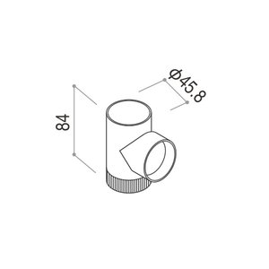 YKKAPガーデンエクステリア 汎用部品 雨樋:ゴミ出しエルボ