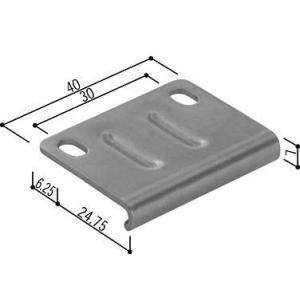 (ゆうパケット(メール便)対応)YKKAP交換用部品 トップラッチ受(HH-3K-14975)|hokusei