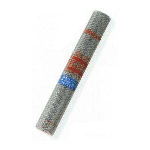 産業用金網 亜鉛引平織金網工作ネット:径0.8mm×4メッシュ 450mm×1m 10本入 亜鉛メッ...