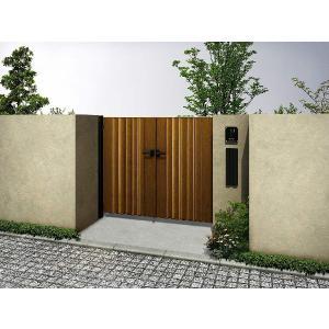 送料無料!YKK玄関ドアと抜群にマッチして美しい玄関まわりを演出するアルミ形材門扉です。【YKK】【...