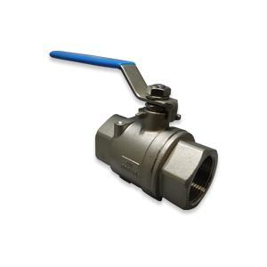 (即納可)ボールバルブ SCS14A(フルボア) CSF-32A Rc1 1/4 グリース不使用 ステンレス|hokusho-shouji