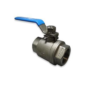 (即納可)ボールバルブ SCS14A(フルボア) CSF-40A Rc1 1/2 グリース不使用 ステンレス|hokusho-shouji