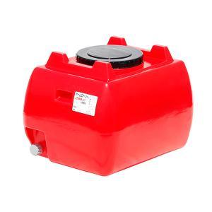 ホームローリー タンク スイコー HLT-200 赤 貯水タンク 雨水タンク|hokusho-shouji