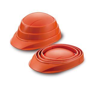 (特典付)防災用ヘルメット オサメット OSAMET KGO-1 オレンジ 1個 1人分 防災用品 備蓄 防災グッズ たためるヘルメット 加賀産業|hokusho-shouji