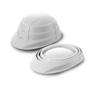 (特典付)防災用ヘルメット オサメット OSAMET KGO-1 ホワイト 1個 1人分 防災用品 備蓄 防災グッズ たためるヘルメット 加賀産業|hokusho-shouji