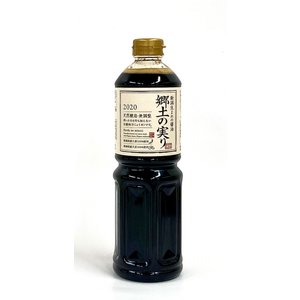 新潟県産醤油「郷土の実り」2018年仕込み1リットル|hokusyoku