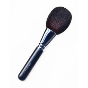 竹宝堂化粧筆(メイクブラシ) パウダーブラシ 20−4黒軸 / 熊野筆|hokutoen