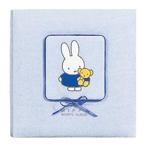 【送料無料】ナカバヤシ ディック・ブルーナ ミッフィー フエルアルバム ア-LB-802/N-2 ブルー フォトアルバム 写真|hokutoen