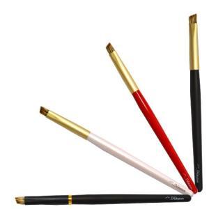 熊野筆/北斗園化粧筆(メイクブラシ) アイブロウブラシ BS-11|hokutoen