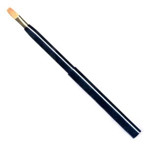 五大洲化粧筆(メイクブラシ) 携帯用リップブラシ / 熊野筆|hokutoen