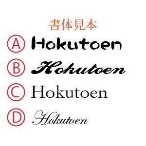赤ちゃん手形足型メモリアル アクリル二層板ゴールド/ho-te-14 hokutoen 03