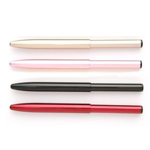 瑞穂化粧筆(メイクブラシ) KLシリーズ 携帯用押出リップブラシ 平型 KL-1F / 熊野筆|hokutoen