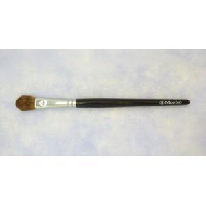 宮尾産業化粧筆(メイクブラシ) MB-16 アイシャドウブラシ L/熊野筆|hokutoen