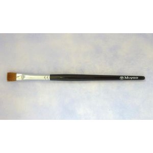 宮尾産業化粧筆(メイクブラシ) MB-20 アイシャドウブラシ(平)/熊野筆|hokutoen
