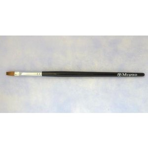 宮尾産業化粧筆(メイクブラシ) MB-24 リップブラシ(平)/熊野筆|hokutoen