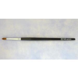 宮尾産業化粧筆(メイクブラシ) MB-28 リップブラシ(丸)/熊野筆|hokutoen