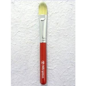 宮尾産業化粧筆(メイクブラシ) MR-12 アイシャドウブラシ L/熊野筆|hokutoen
