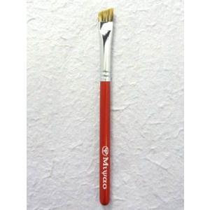 宮尾産業化粧筆(メイクブラシ) MR-21 アイブロウブラシ M/熊野筆|hokutoen