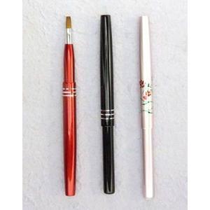 宮尾産業化粧筆(メイクブラシ) MU-1-2-3 携帯用リップブラシ/熊野筆|hokutoen