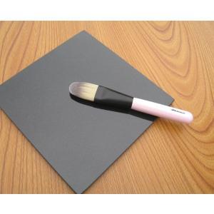 熊野筆/メイクブラシ・化粧筆/北斗園 PKシリーズ リキッドファンデーションブラシ PK-2|hokutoen