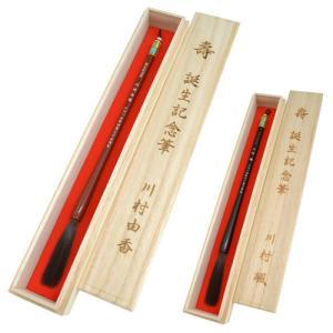 出産祝い 赤ちゃん筆(胎毛筆) さくらコース|hokutoen|02