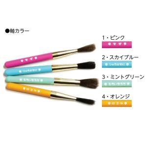 赤ちゃん筆(胎毛筆) よつばコース/熊野筆の技術で制作/出産祝いギフトにも|hokutoen|03