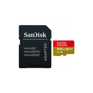 エクストリーム microSDXC UHS-I 400GB