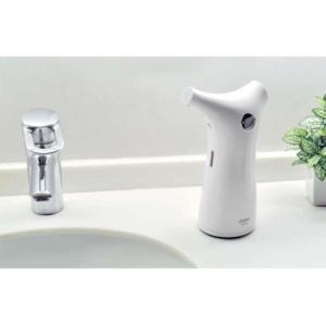 DRETEC 梅雨対策 ソープディスペンサー ホワイト 手をかざすだけで自動で洗剤が出ます SD-9...