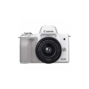 ミラーレス一眼カメラ 「EOS Kiss M」 EF-M15-45 IS STM レンズキット (ホ...