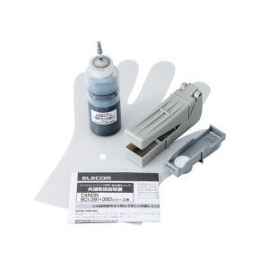 エレコム 詰替えインク/キヤノン/BCI-380対応/ブラック(4回分) THC-380PGBK4|hokutoku