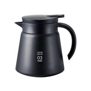 真空断熱二重構造ステンレス製コーヒーサーバー。