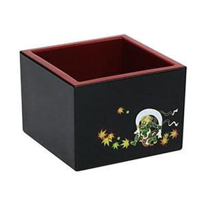 日本の伝統的な図案が描かれた加飾枡。
