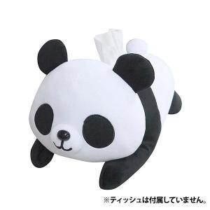 かわいいパンダのティッシュカバー♪