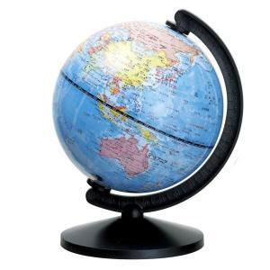 机の上にピッタリのコンパクトサイズ地球儀!