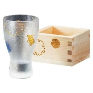 モダンで涼しげな風合いのグラス。