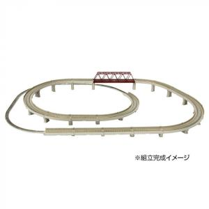 レールセットD 単線立体交差セット R063 代引不可|hokutoku