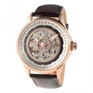 MANNINA(マンニーナ) 腕時計 MNN005-04 ダークブラウン hokutoku