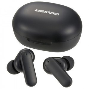 AudioComm ANC完全ワイヤレスイヤホン ブラック HP-W800N|hokutoku