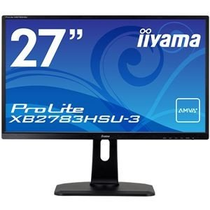 iiyama 27型ワイド液晶ディスプレイ ProLite XB2783HSU-3(AMVA+/フル...