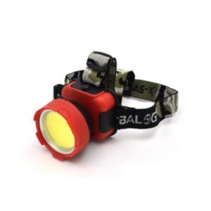 〔3個セット〕 アウトドアやキャンプなどに COB型 3W LEDヘッドライト hokutoku 03