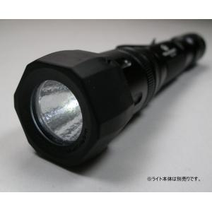アンチ・ロール・レンズ・ホルダー(レンズ部保護プロテクター) :クリア・レンズつき 【OLIGHT T25対応】|holkin