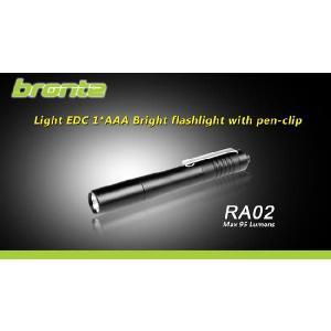 【CREE XP-R5搭載 単4電池×1本】 Bronte RA02 ペン型LEDライト holkin
