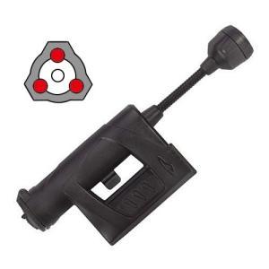 【本体色:ブラック / メインLED:白色 / サブLED:赤色×3】 PrincetonTec CHARGE HELMET LIGHT チャージ:単3型電池×1本 / 明るさMAX:55ルーメン】|holkin