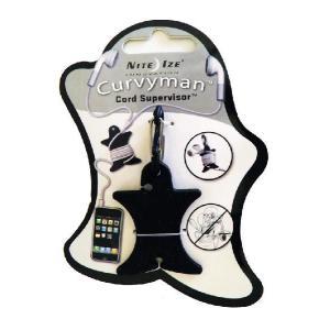 NITE-IZE Curvyman Cord Supervisor, Black : CVM-03-01:NIZ-M-07|holkin