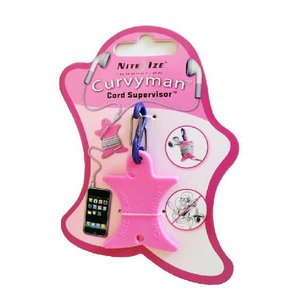 NITE-IZE Curvyman Cord Supervisor, Pink : CVM-03-12:NIZ-M-06|holkin