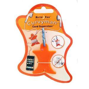 NITE-IZE Curvyman Cord Supervisor,Orange : CVM-03-19:NIZ-M-05|holkin